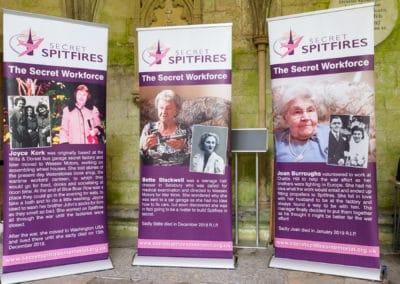 Secret Spitfires Memorial fundraising launch, Salisbury 15th October 2019